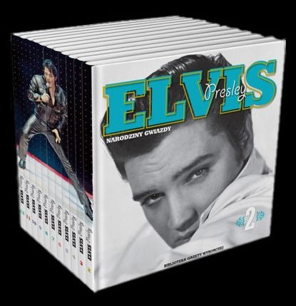 Elvis Presley - Polish Elvis books & CDs  - Boek, CD, CD's, Dozen set - 2009/2009