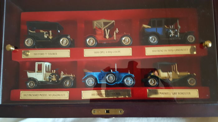Matchbox by Lesney - 1:43 - Kavel met 6 modellen - Limited edition from 1984