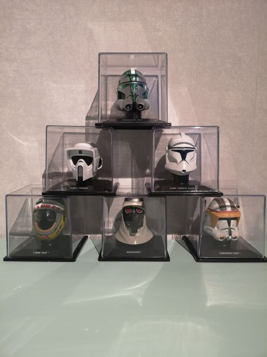 De AGOSTINI STAR WARS 1//5 SCALE HELMET COLLECTION CHOOSE YOUR FAVOURITE