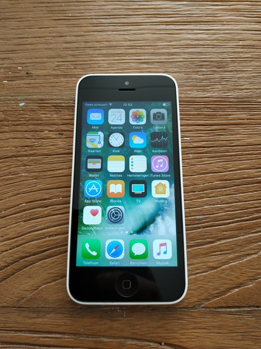 Apple 5c 16gb White A1456 - iPhone - Sin la caja original