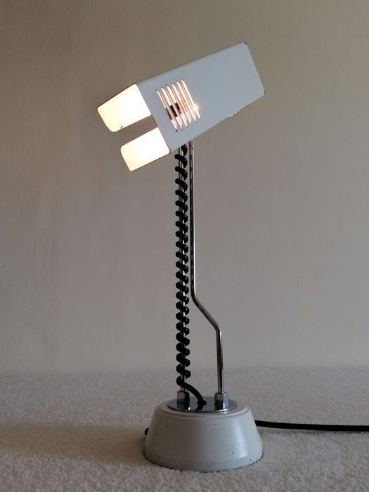 unknown designer - Space Age design 60s table lamp - Catawiki