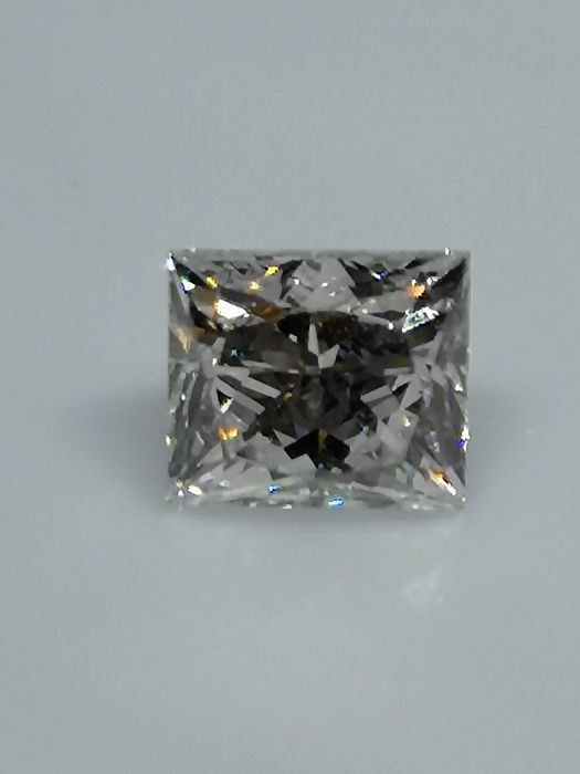 1 pcs Diamond - 1.00 ct - Princess - I - VS2