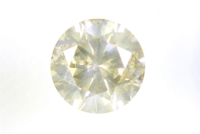 Diamante - 0.45 ct - Brillante - P1 - * NO RESERVE PRICE *