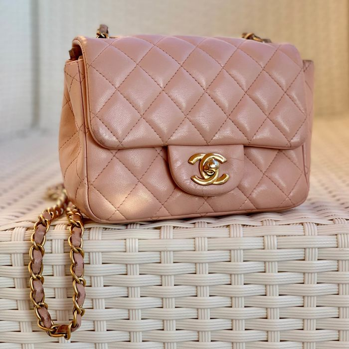 982474c99274 Chanel - Chanel Mini Timeless Classic Flap Bag in Baby Pink Lambskin  Shoulder bag
