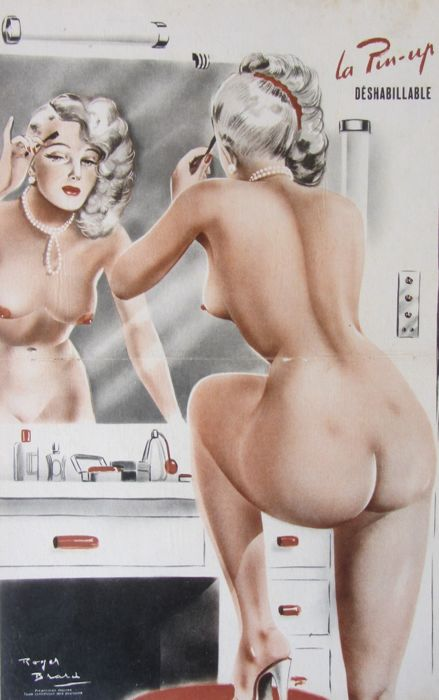 Brard Roger - La Pin-up Déshabillable  - jaren 1950
