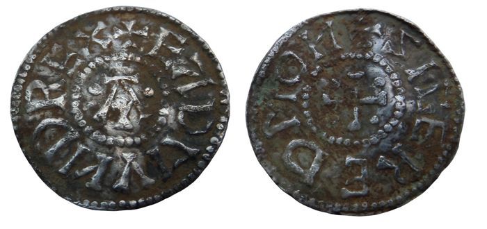 Great Britain, Anglo-Saxon - Penny (Sigired) Eadmund Kings of East Anglia (855-869) - Silver