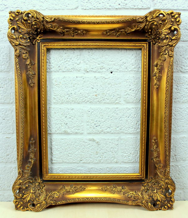 Gold Plated Painting List - Louis XIV Style