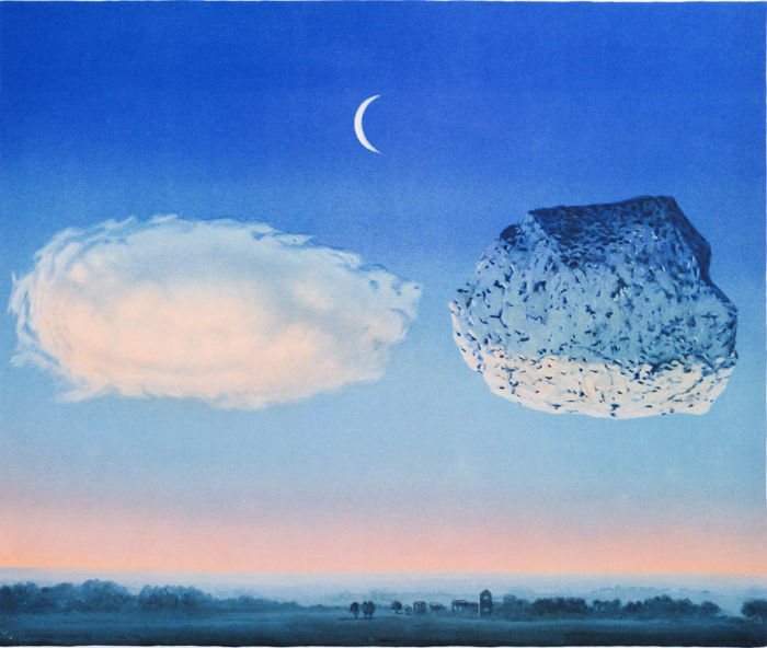 René Magritte (after) - La Bataille de l'Argonne (The Battle of the Argonne)