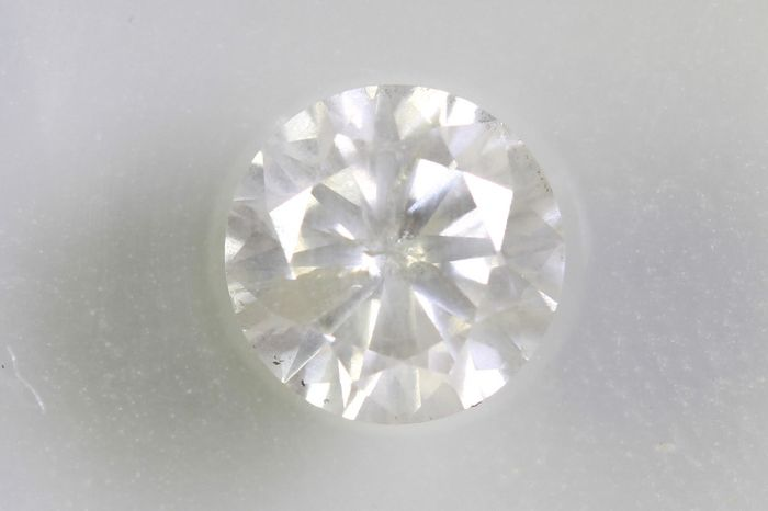 Diamante - 0.56 ct - Brillante - I - I2