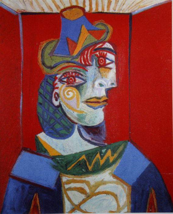 Pablo Picasso (after) - Figure
