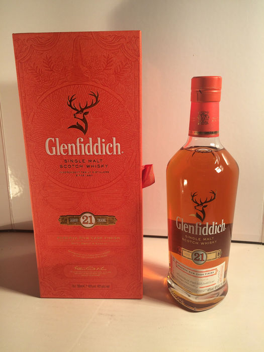 Glenfiddich 21 years old Reserva Rum Cask Finish - 0.7 Ltr