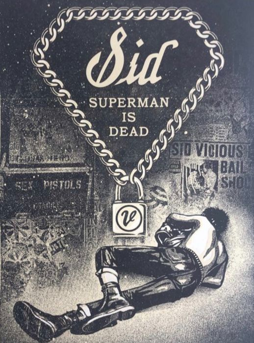 Shepard Fairey (OBEY) - Superman is dead