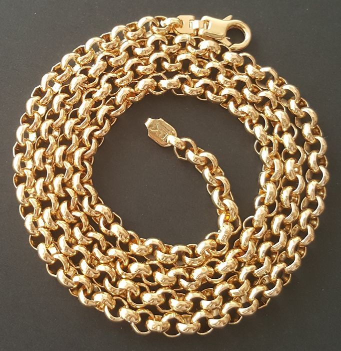 60 cm 44.5 gr - 18 kt. Yellow gold - Necklace