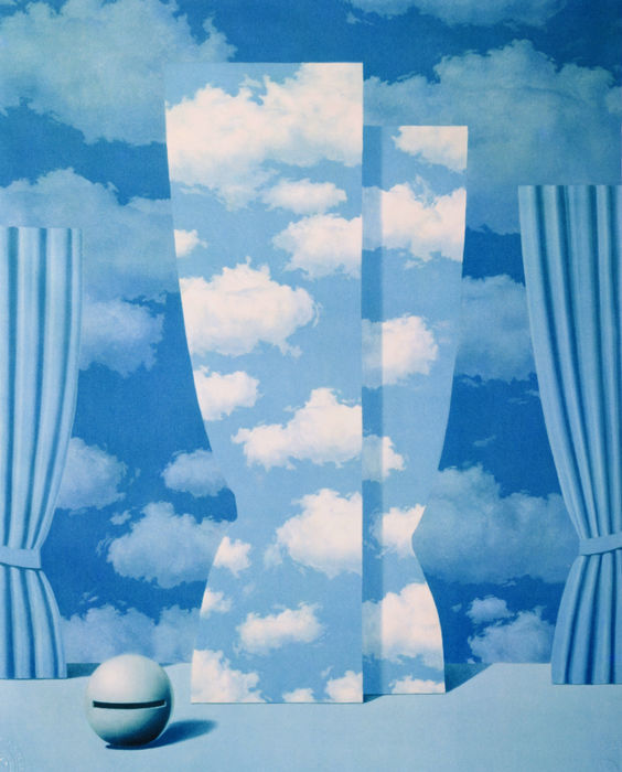 René Magritte (after) - La Peine Perdue (The Wasted Effort)