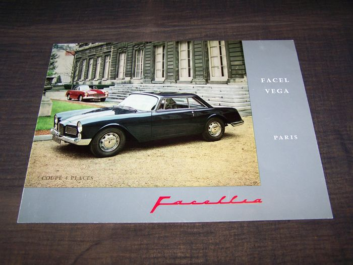 Brochures Catalogi Original brochure Facel Vega Catawiki