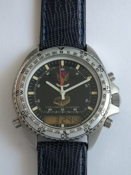 "Breitling for DPW - Modell Militare limited ""CON L´ADIRE LA GLORIA"" - Men - 1980-1989"
