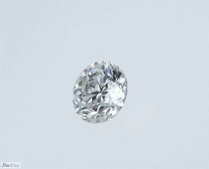1 pcs Diamant - 1.01 ct - Rond - I - P1