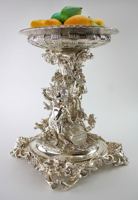 French Centrepiece - Silverplate