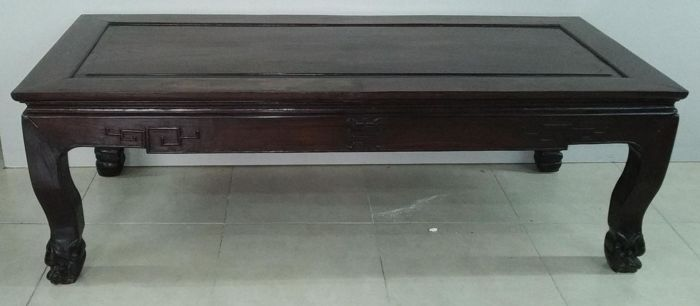 Low table (1) - Wood - China - First half 20th century