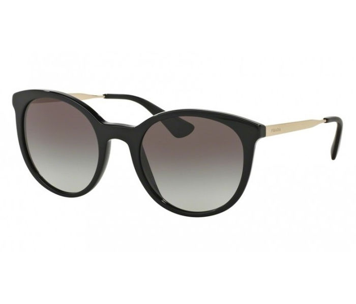 Prada - Black Gold Designer - New - Made in Italy - 2019 Sunglasses