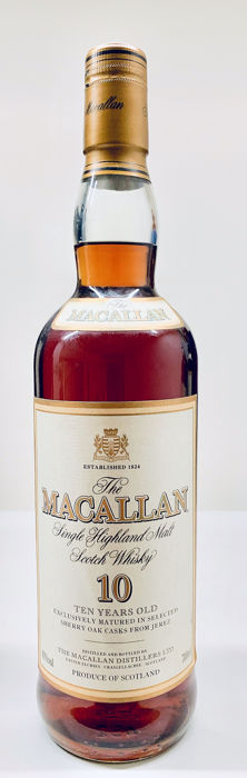 Macallan 10 years old - b. early 2000s - 700ml