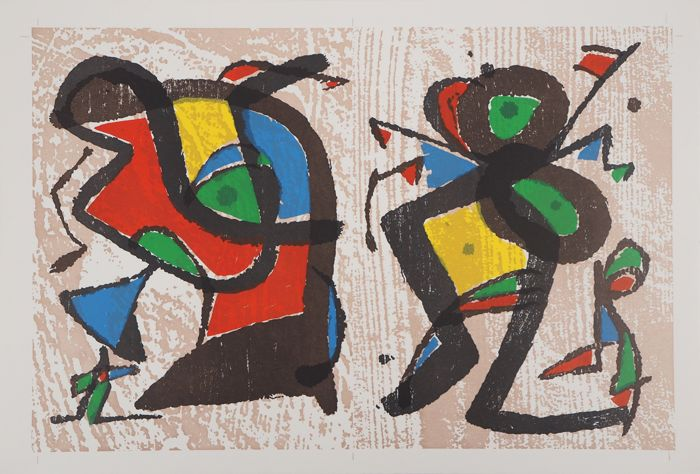 Joan Miró - Séduction