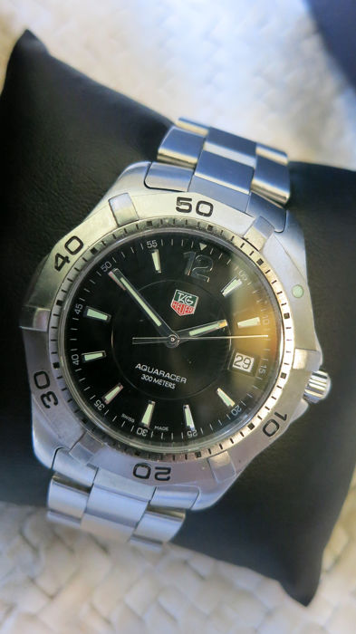 TAG Heuer - Aquaracer men full size - WAF1110 - Heren - 2011-heden