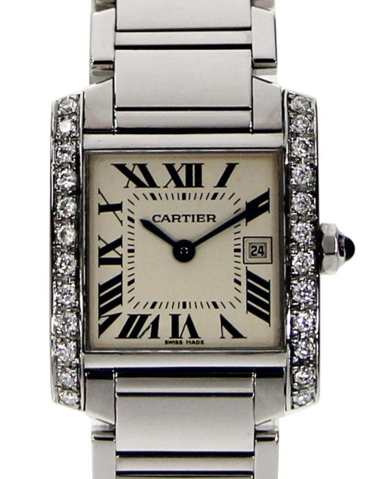 Cartier - Tank Francaise - 2465 - Unisex - Doesn't apply