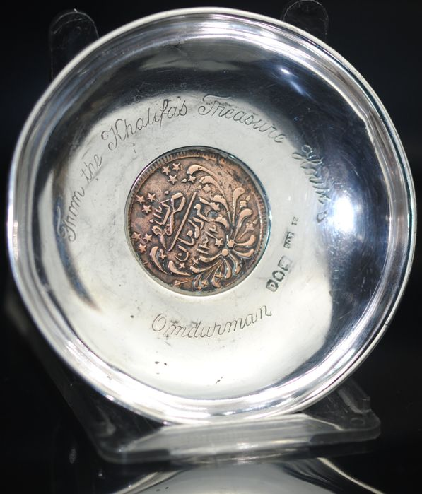 """S. Mordan & Co of London - Victorian """"Plate from the Khalifa's Treasure House"""" - Zilver"""