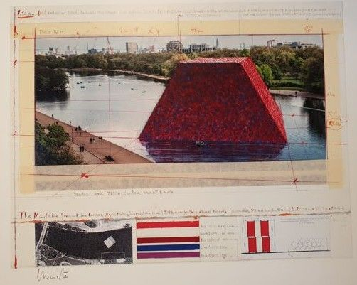 CHRISTO - THE LONDON MASTABA