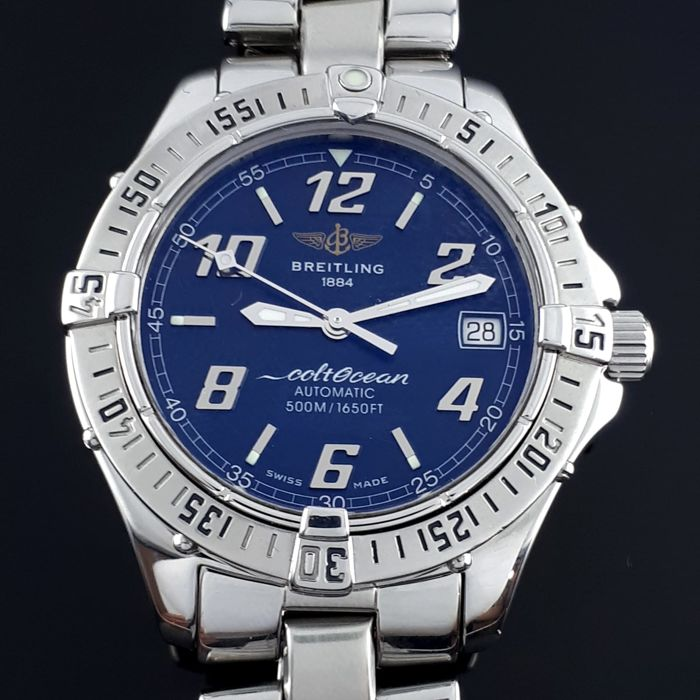 Breitling - ColtOcean Automatic  - Breitling: A17350 - Herre - 2000-2010