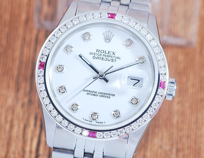 Rolex -  Oyster Perpetual DateJust  - 16014 - Hombre - 1980-1989