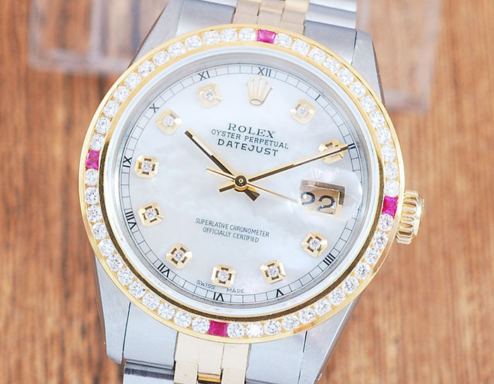 Rolex -  Oyster Perpetual DateJust  - 16013 - Men - 1980-1989