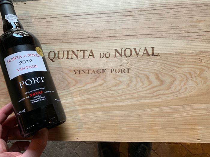 2012 Quinta Do Noval Vintage Port - 4 Bottles (0.75L)