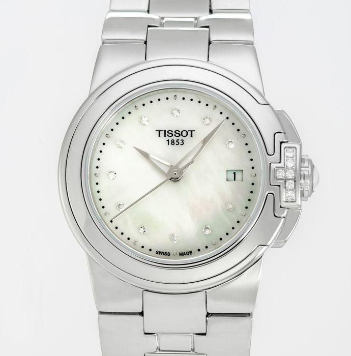 Tissot - T-Sport Mother of Pearl Ladies Diamonds Watch - T080.210.61.116.00 - Women - 2011-present