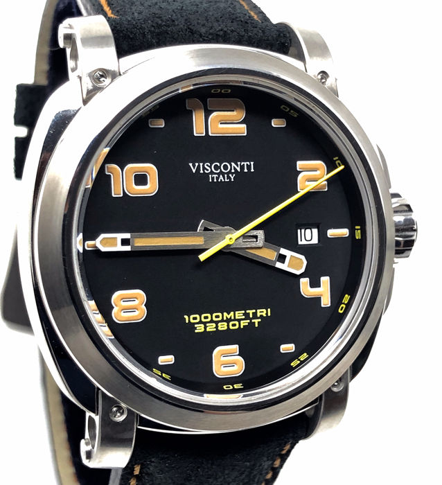"Visconti - Automatic Watch Majorca Stainless Steel ""NO RESERVE PRICE"" - KW30-01 - Herren - BRAND NEW"