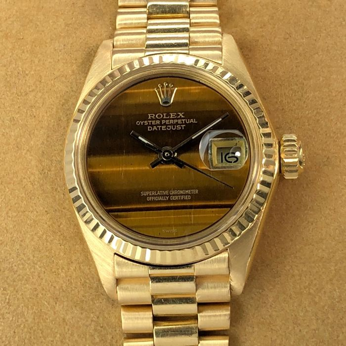 Rolex - Lady Datejust Tiger Eye Dial - 6917 - Mujer - 1970-1979