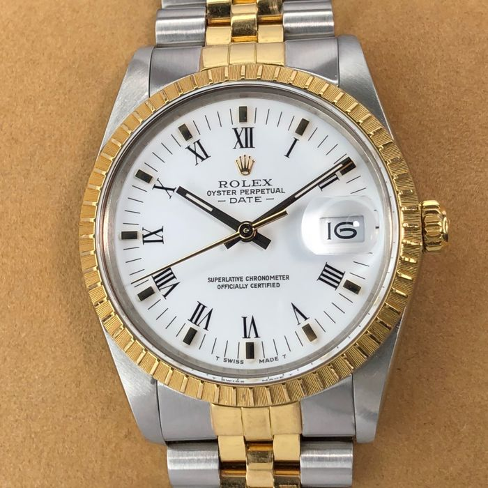 Rolex - Oyster Perpetual Date - 15053 - Homme - 1980-1989