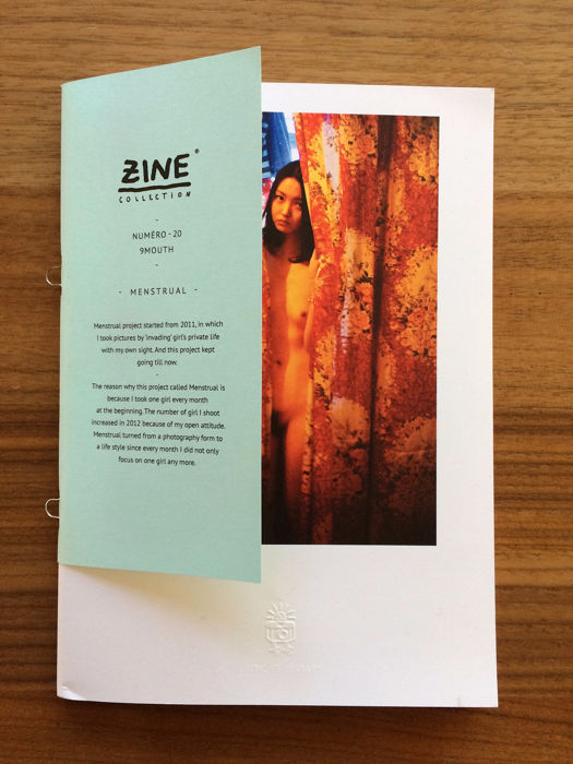 Signed; 9Mouth - Menstrual. Zine Collection N° 20  - 2014
