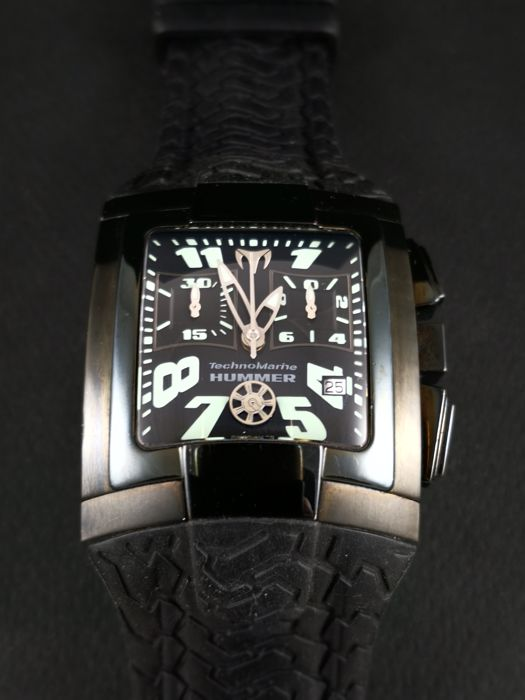 TechnoMarine - Hummer Nighthawk Limited Edition  - XSMSHB - Heren - 2000-2010