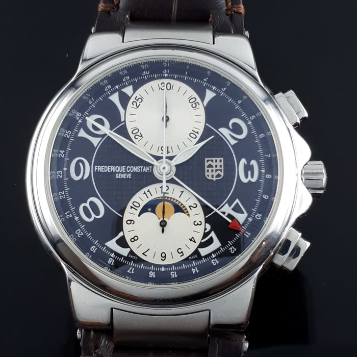 Frédérique Constant - Highlife moonphase chrono - Ref:  FC395X4H5/6 - Men - 2011-present