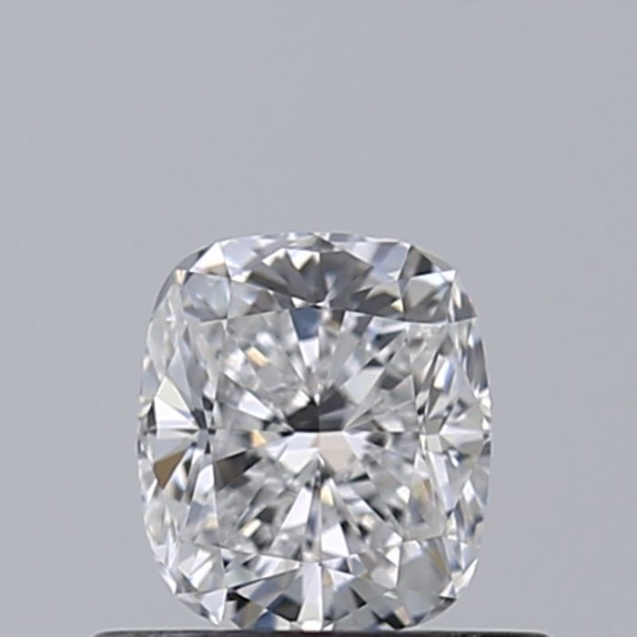 1 pcs Diamond - 0.50 ct - Cushion - D (colourless) - IF (flawless)