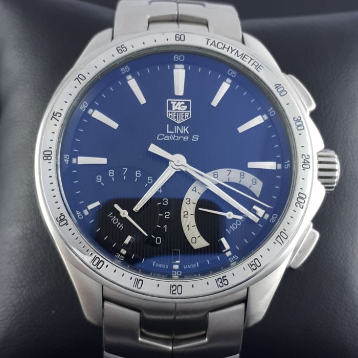 TAG Heuer - LINK Calibre S - Ref: CAT7010  - Heren - 2000-2010