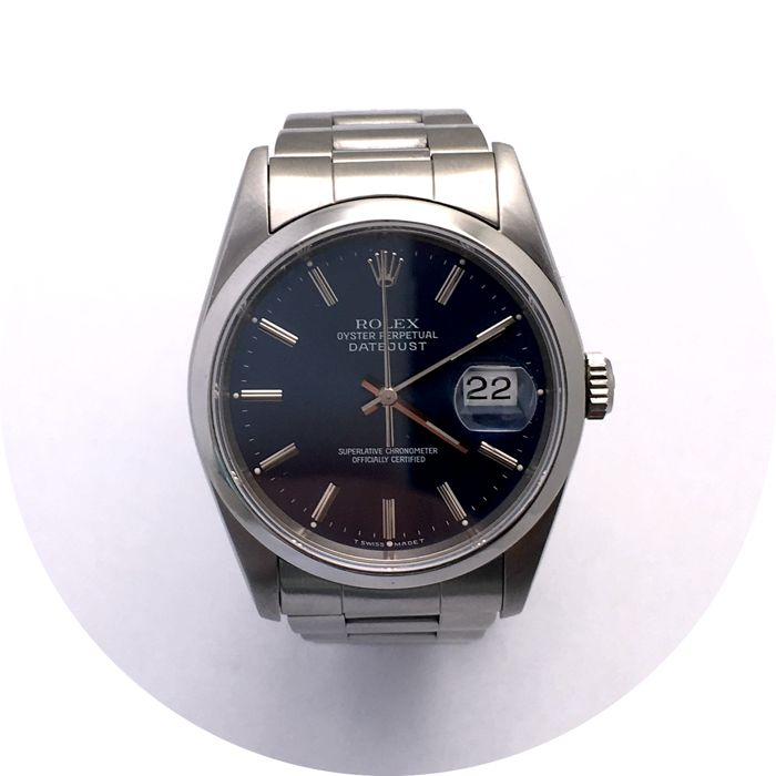 Rolex - Oyster Perpetual Datejust - 16220 - Heren - 1990-1999