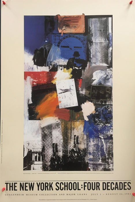 Robert Rauschenberg - The New York School (Guggenheim Museum) - 1982