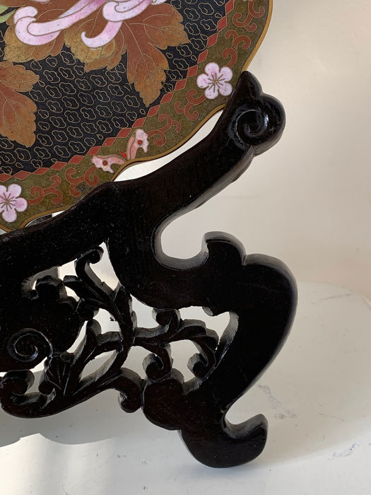 2019 Fashion Piatto In Cloisonnè Other Asian Antiques Asian Antiques