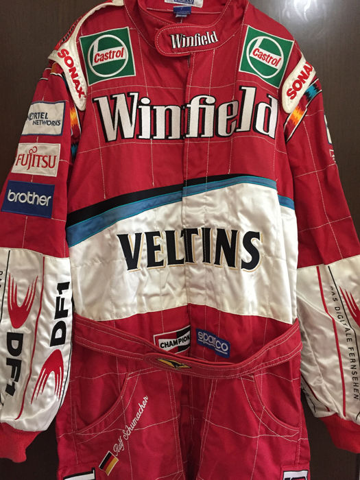 Winfield Williams F1 team - Formula One - Ralf Schumacher - 1999 - sparco suit overall