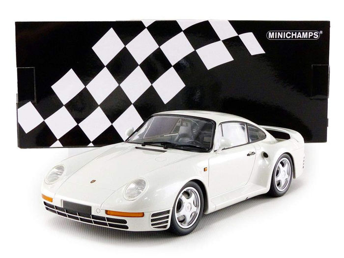 MiniChamps - 1:18 - Porsche 959 1987 - Limited Edition or 1,002 pcs.