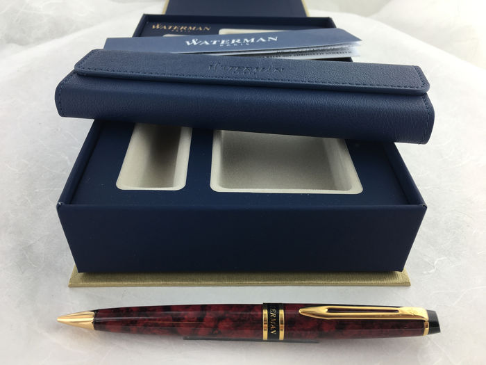 Waterman - Expert Marbled Red vulpotlood.