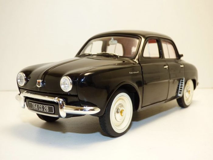 Norev - 1:18 - Renault Dauphine - noire - new and in unopened original packaging